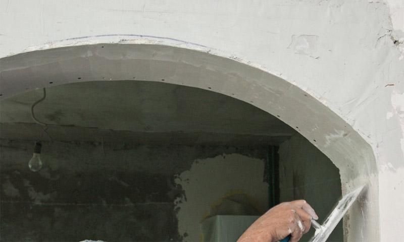 Монтаж арки из гипсокартона пошаговая инструкция