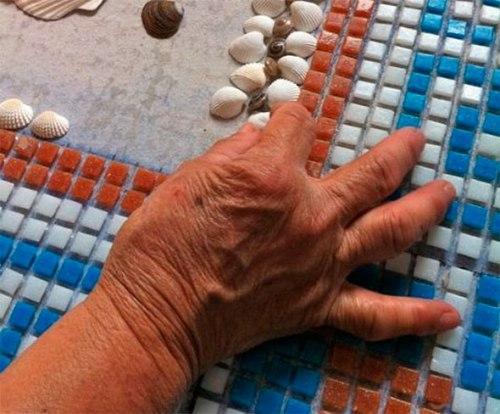 Как сделать мозаику руками